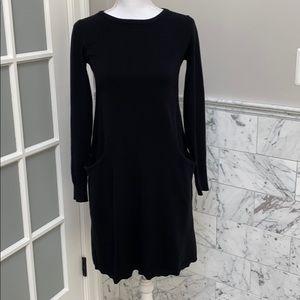 Sundance black sweater dress xs film noir